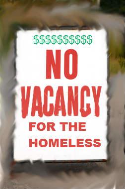 homeless guest
