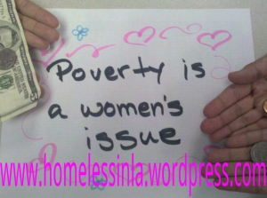 poverty is a women's issue