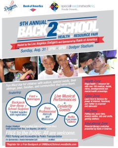 Dodger Stadium event for Autistim Families