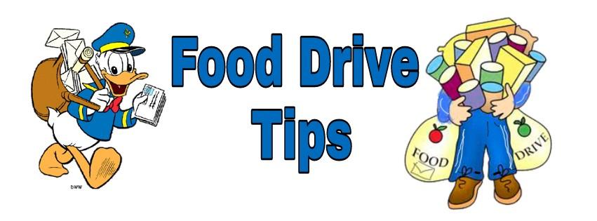Food Drive Tips